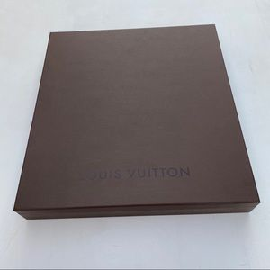 Empty Louis Vuitton box large/medium size